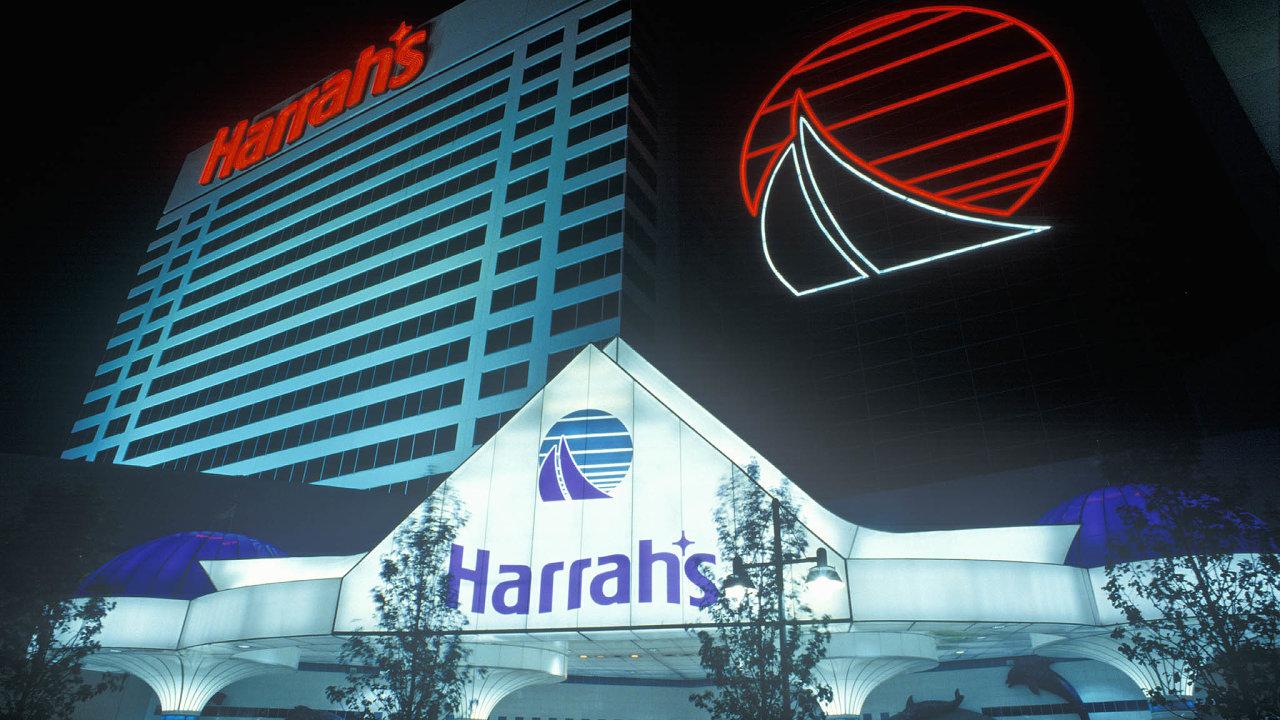 Kasíno Harrah's v Atlantic City.