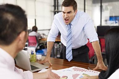 Podle australských vědců vykazuje psychopatické rysy až pětina šéfů (ilustrační snímek).