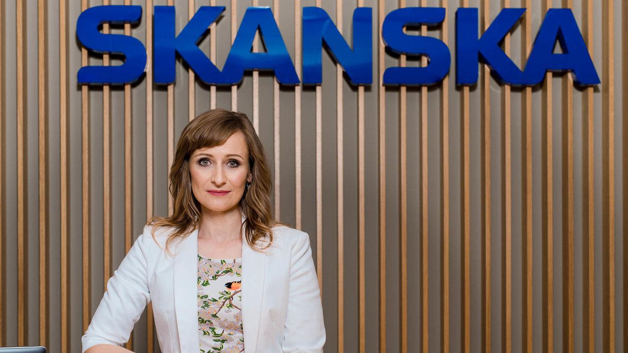 Generální ředitelka společnosti Skanska Property Czech Republic Alexandra Tomášková.