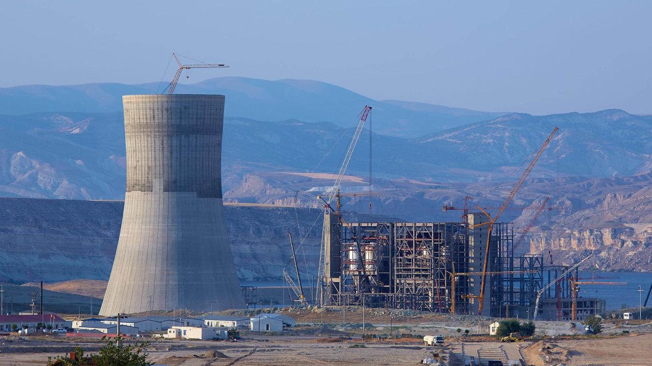 Rozestavěná turecká elektrárna Adularya