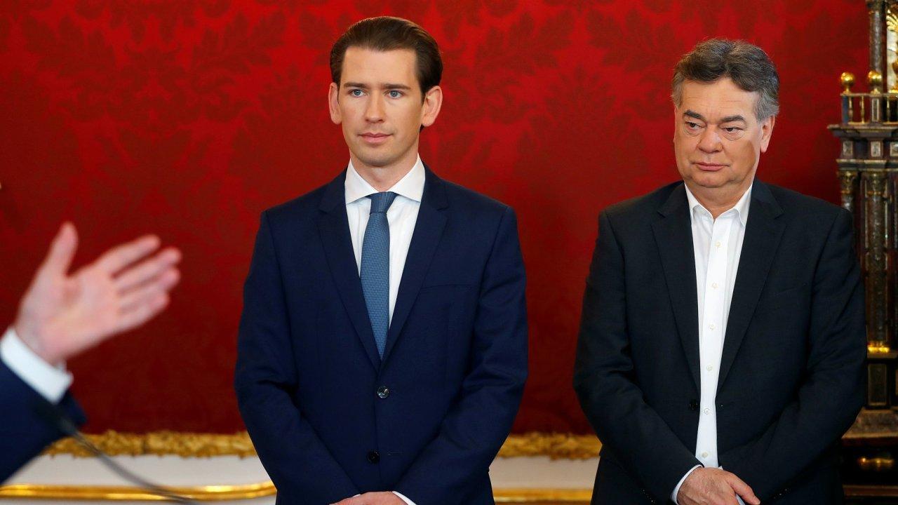 Werner Kogler Sebastian Kurz Rakousko vláda