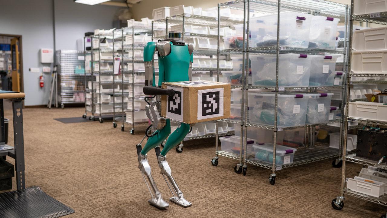 Ford si pořídil dva roboty Digit od Agility Robotics.
