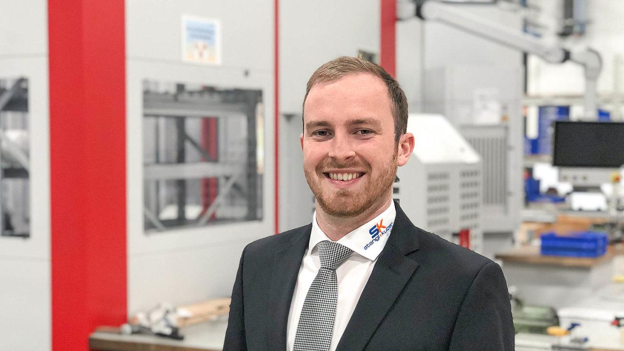 Benedikt Kulzer, který společně se svým otcem řídí rodinnou firmu Stangl & Kulzer, je náramně spokojený s podporou firem v Německu v době koronavirové krize.
