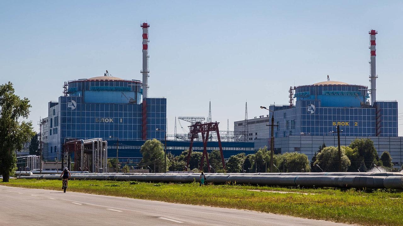 Elektrárna Chmelnická: Ukrajinskou jadernou elektrárnu vChmelnické oblasti nazápadě země provozuje tamní státní podnik Energoatom. Česká Škoda JS jedná odostavbě jejích dvou bloků.