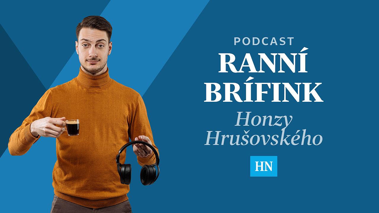 Ranní brífink Honzy Hrušovského