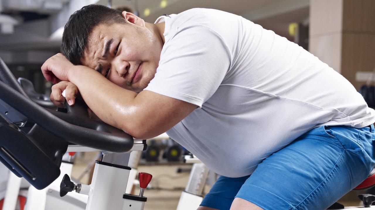 Čína, fitnes, obezita, nadváha, posilovna