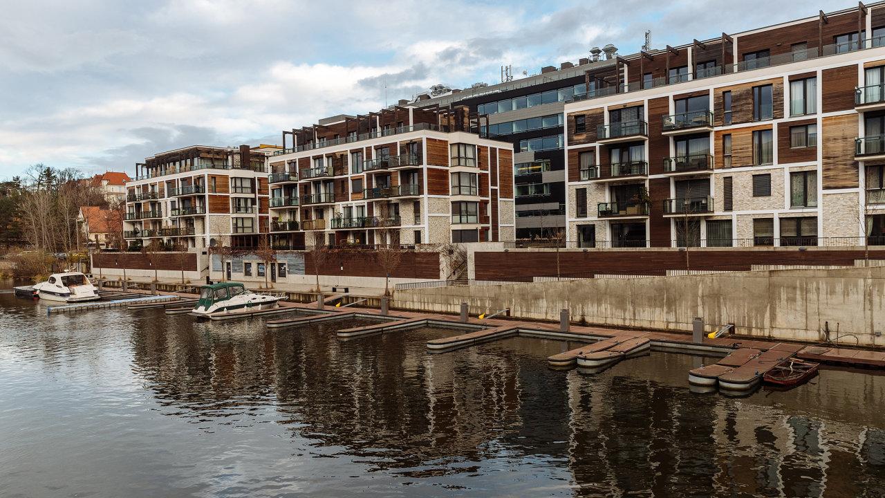Nové byty v pražské čtvrti Libeň