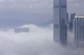 Typický hongkongský obrázek