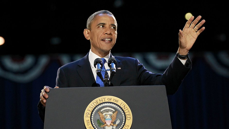 Staronový prezident USA Barack Obama