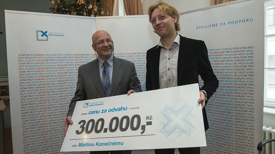 Martin Konečný a Karel Janeček