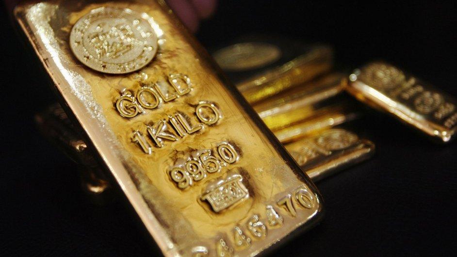 Zlatý odlitek, ilustrační foto