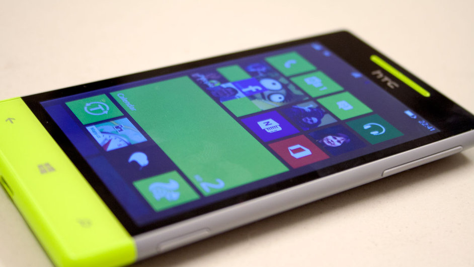 Windows Phone 8 na telefonu HTC Windows Phone 8S