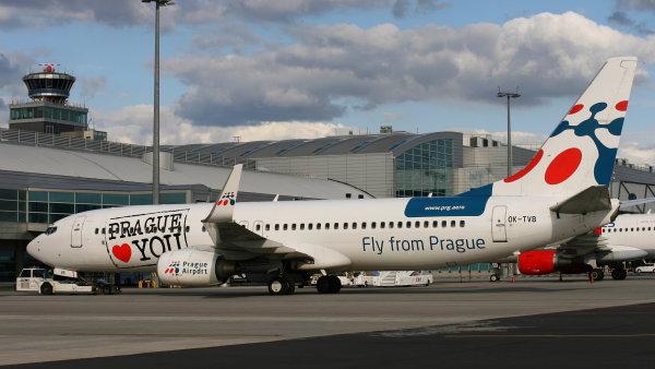 Ratingová agentura Moody's zlepšila rating Českého Aeroholdingu na A2 – ilustrační foto.