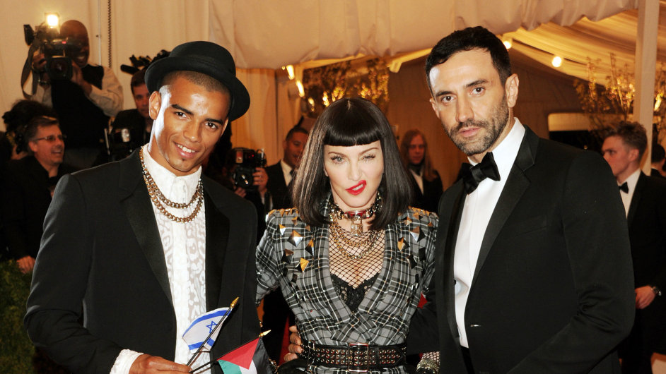 Brahim Zaibat Madonna a Riccardo Tisci