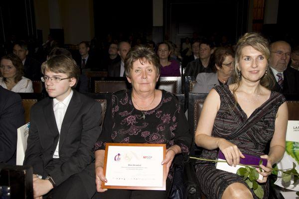 Marie Strnadová, vítězka soutěže Zdravotně postižený Zaměstnanec roku 2012 v kategorii Chráněný trh práce.