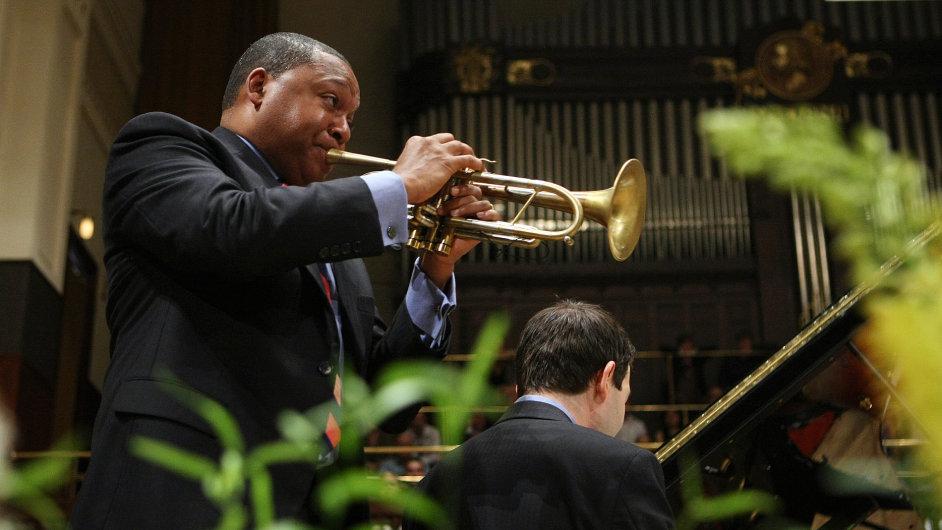Wynton Marsalis a Jazz at Lincoln Center Orchestra, Obecní dům, 10. července 2013