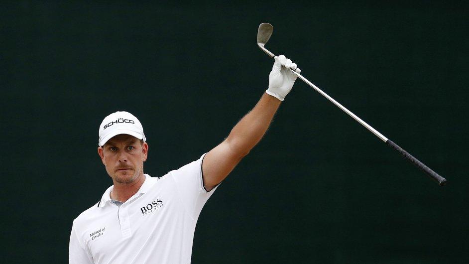 Švédský golfista Henrik Stenson