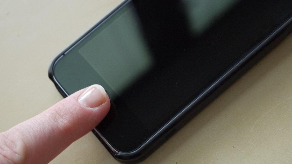 Kontrola otisku prstu u nového iPhonu 5S