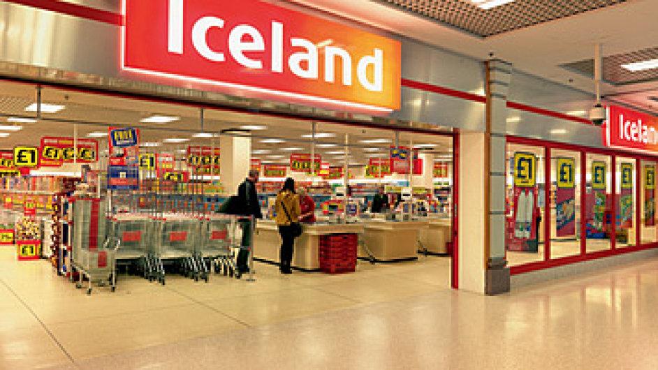 Britský řetězec s mraženými potravinami Iceland.