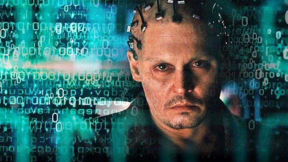 Johnny Depp se v novém sci-fi promění v supercomputer.