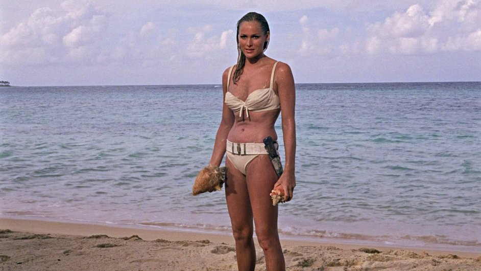 Ursula Andressová ve filmu Dr. No (ilustrační foto)