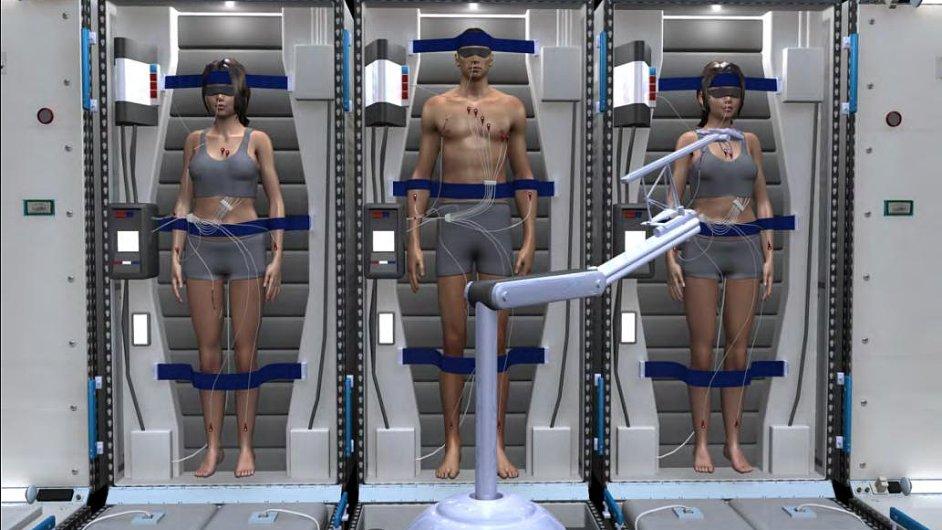 NASA připravuje pro astronauty letící na Mars hibernační komoru.