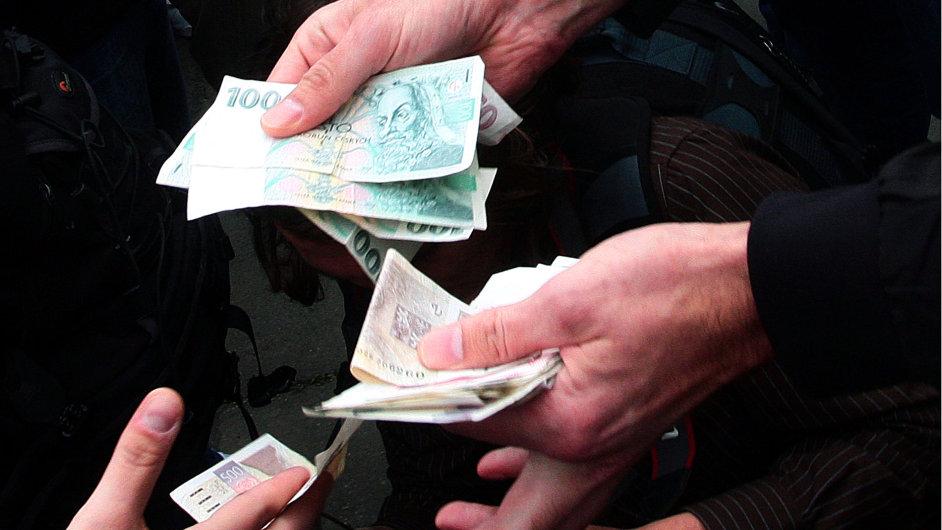 Korupce. Ilustrační foto