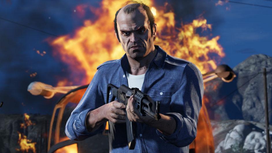 Série Grand Theft Auto je symbolem násilných her.