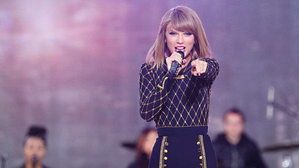 Skladby Taylor Swift byste na Spotify hledali marně
