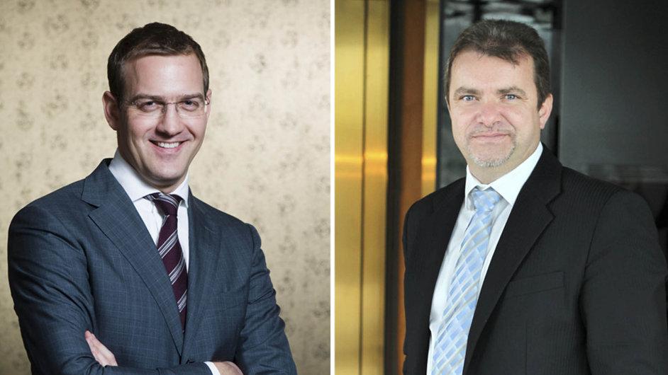 Daniel Křetínský (vlevo) a Patrik Tkáč plánují prostřednictvím EPH vyčlenit část akciové společnosti Pražská teplárenská (ilustrační foto).