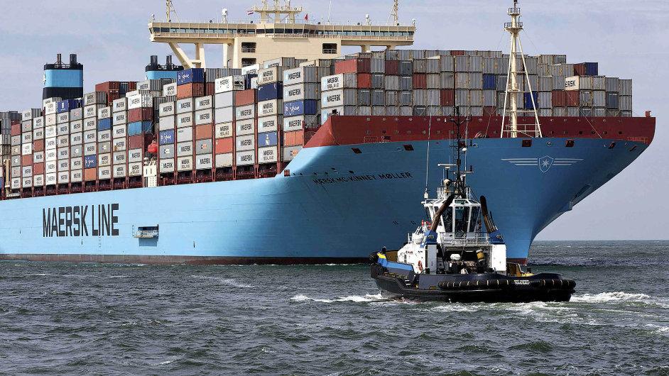 Světová obchodní organizace snížila odhad růstu světového obchodu na 3,3 procenta (ilustrační foto).
