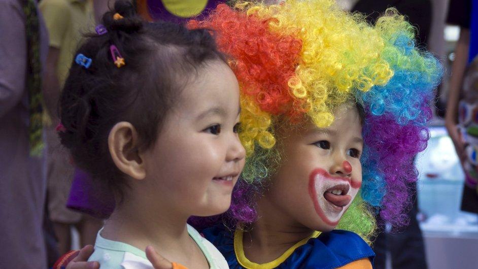 Kontrola ovzduší při letních olympijských hrách v Pekingu prý zvýšila váhu novorozenců (ilustrační foto).