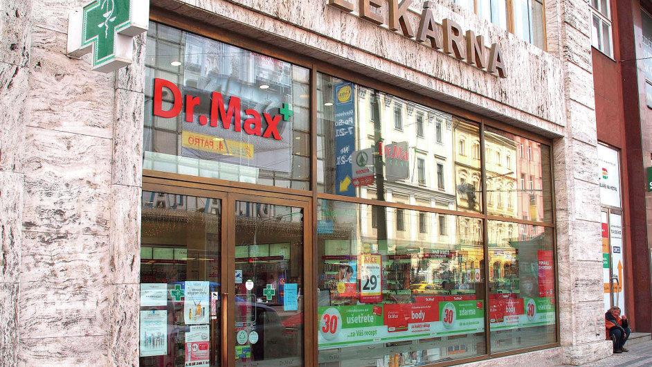 Skupina Penta chce v Česku provozovat ideálně okolo 200 lekáren Dr. Max.