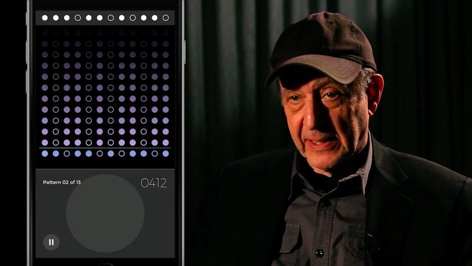 Skladatel Steve Reich se svojí aplikací pro iPhone a iPad.