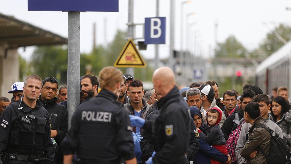 Německo uzavírá kvůli uprchlické krizi svoje hranice.