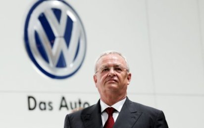 Martin Winterkorn rezignoval na post gener�ln�ho �editele koncernu Volkswagen.