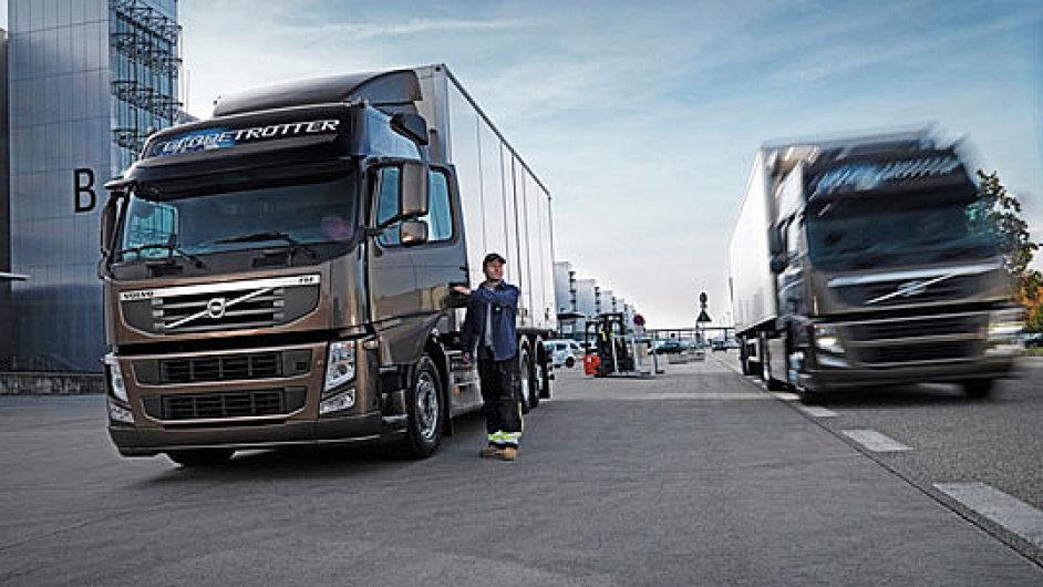 O nákladní auta Volvo v Evropě roste zájem - Ilustrační foto.