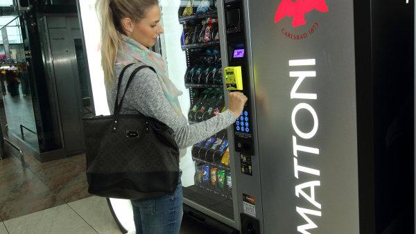 Nov� automat od Very Goodies.