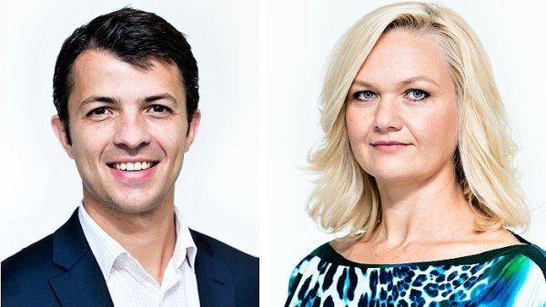 Adrien Denavit a Martina Slez�kov�, L'Or�al �esk� republika