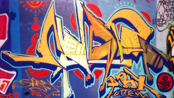Jan Zaj��ek alias Scarf za�al s graffiti v �esku p�ed v�ce ne� dvaceti lety.