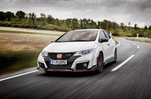 Hravá Honda Civic Type R láká k divokému svezení