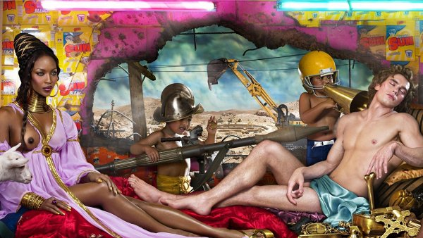 David LaChapelle: Rape of Africa, 2008