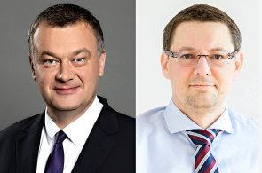 Petr Kotora a Ondřej Laně, oddělení Industrial &  Logistics a Retail CBRE