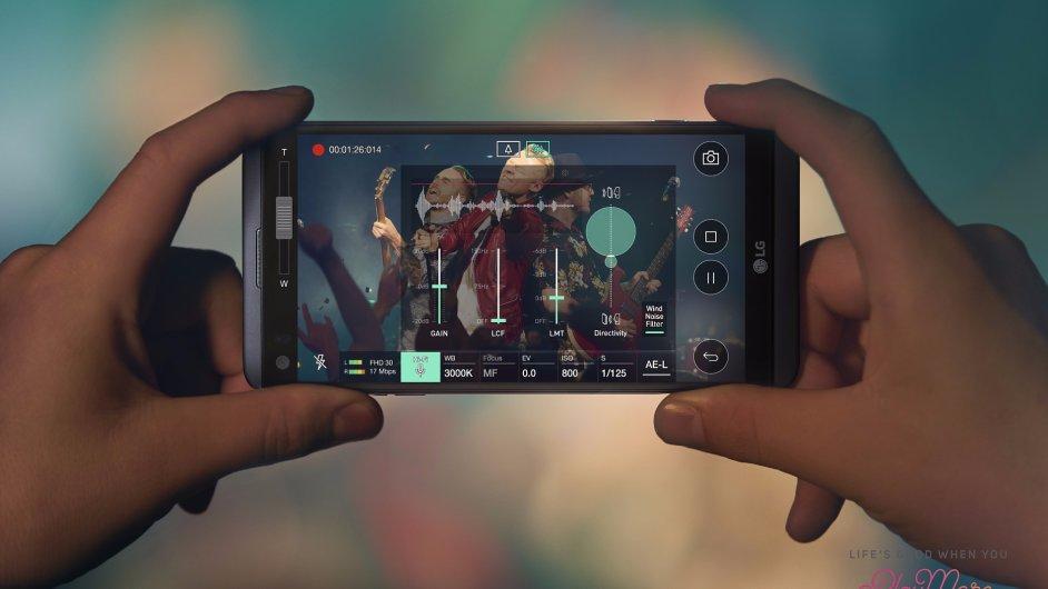 LG V20 s Androidem 7 Nougat