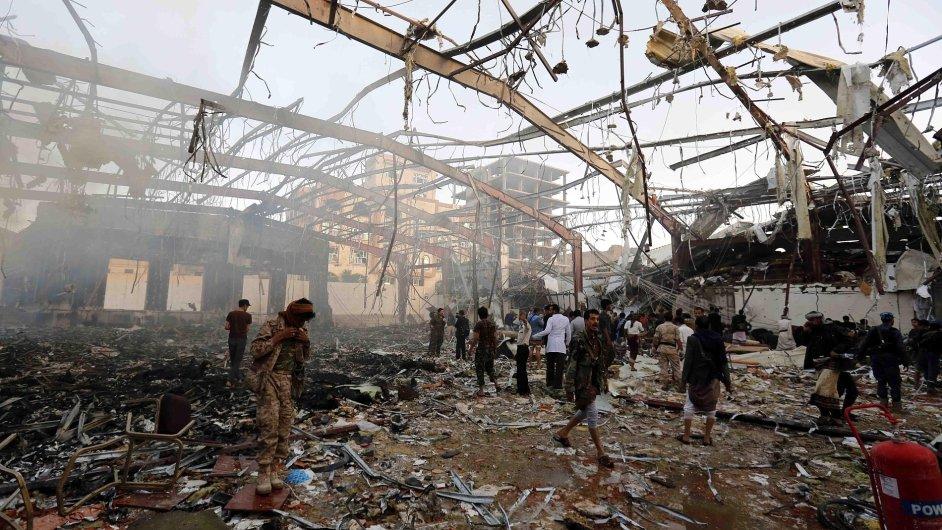 Jemen, USA, nálety