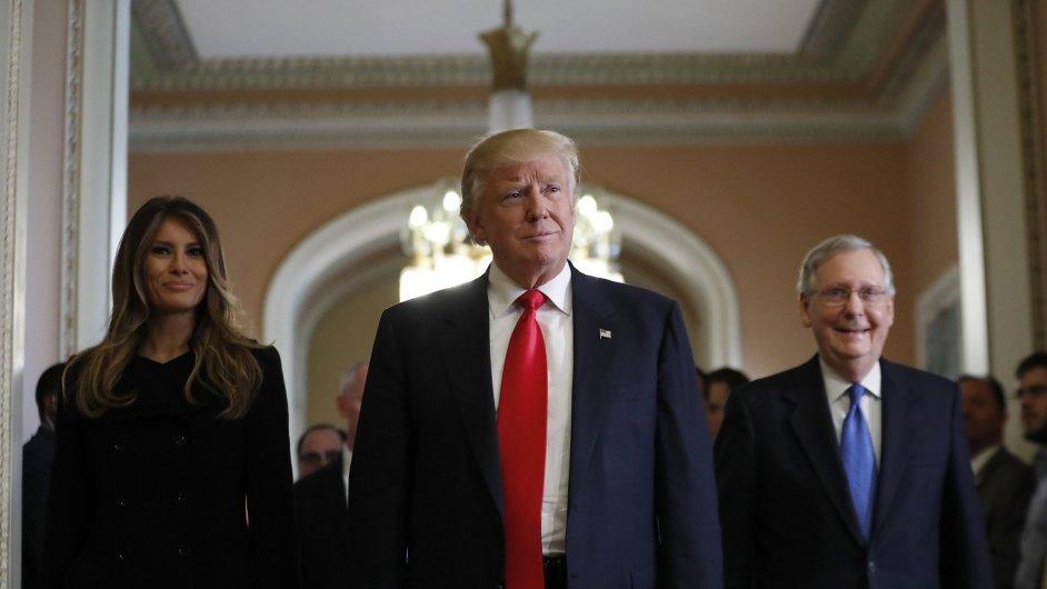 Nově zvolený americký prezident Donald Trump.