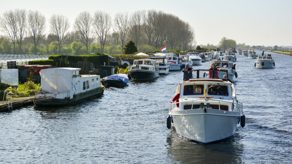 Odemykání kanálů v Nizozemsku