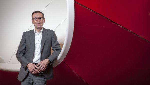 Jiří Báča, nový ředitel českého Vodafonu