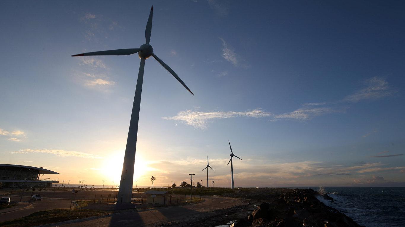 Také nepříznivé povětrnostní podmínky se podepsaly na poklesu spotřeby zelené energie. – Ilustrační foto
