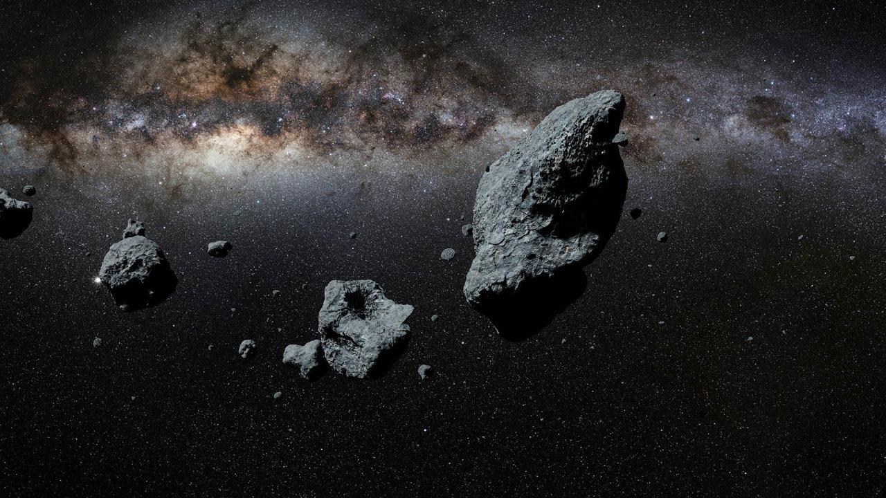 Bohatství zvesmíru: Podle odhadů může jediný asteroid obsahovat platinu vhodnotě 50 miliard dolarů.